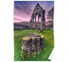 Welsh Abbey  Poster