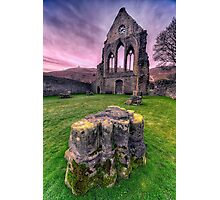 Welsh Abbey  Photographic Print