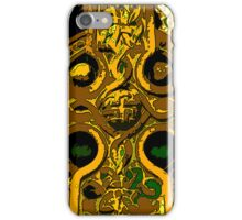 Celtic Cross gold iPhone Case/Skin