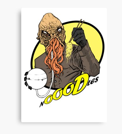 nOOODles! Doctor Who Canvas Print