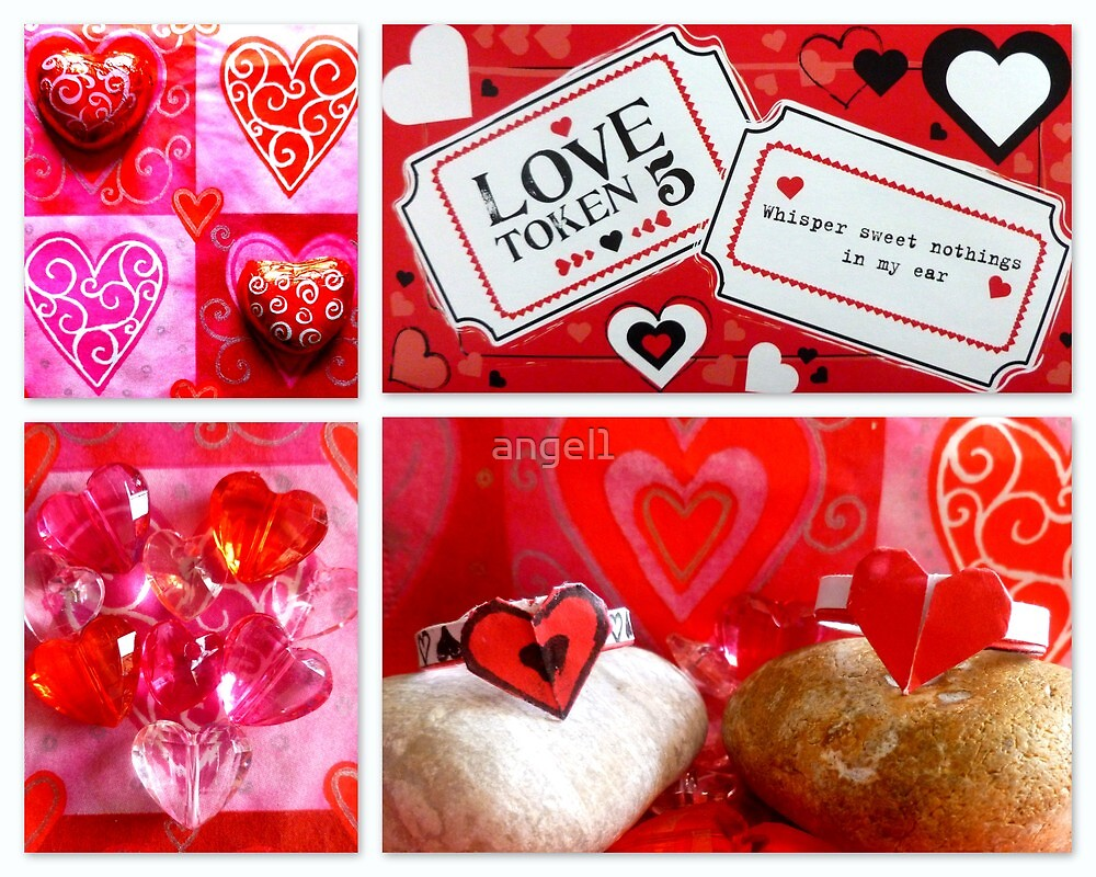 Love token 5 ~ sweet nothings by ©The Creative  Minds