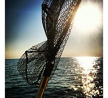 Early morning fishing Photographic Print