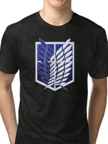 Attack On Titans Survey Corps Logo Tri-blend T-Shirt