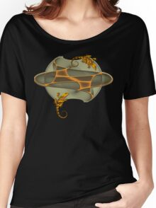 Fractal Gecko Women's Relaxed Fit T-Shirt