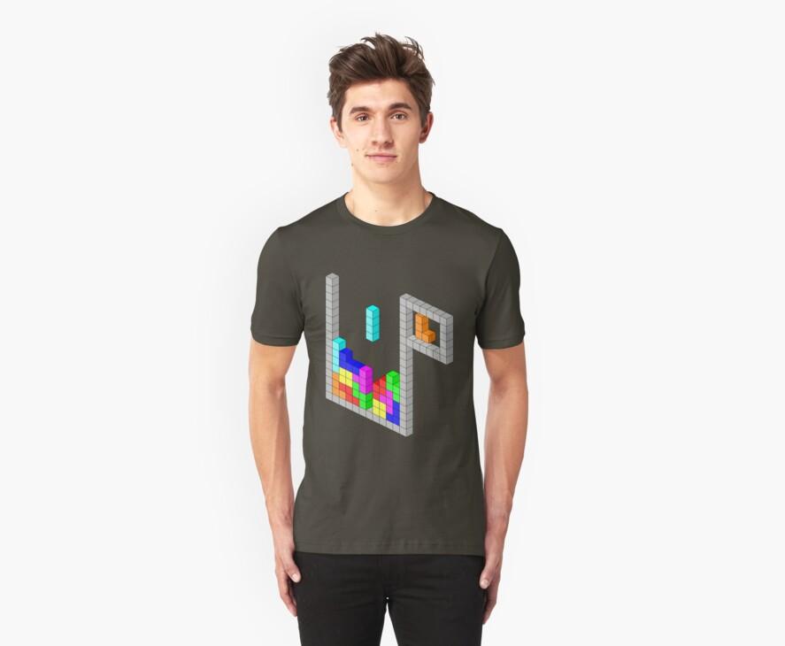 Isometric Tetris by FentonBailey