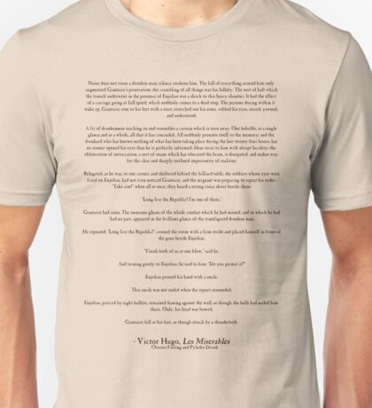 Orestes Fasting and Pylades Drunk Unisex T-Shirt