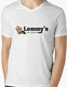 Mario Kart 8 Lemmy's Tire Service Mens V-Neck T-Shirt