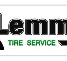 Mario Kart 8 Lemmy's Tire Service Sticker