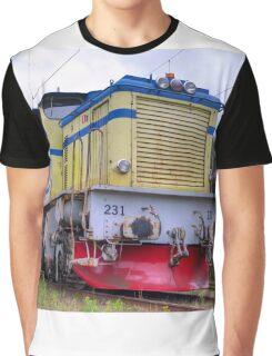 Locomotives of Värnamo II Graphic T-Shirt