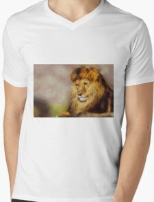 And You Hunt Me by Pierre Blanchard Mens V-Neck T-Shirt
