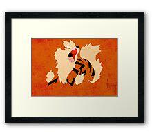 Arcanine Framed Print