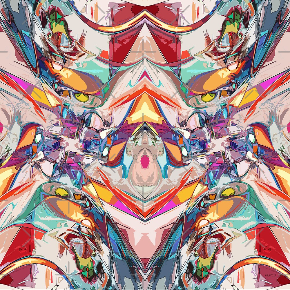 Abstract Color Mix by Phil Perkins