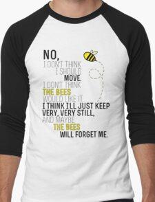 Lots and Lots of Bees! Men's Baseball ¾ T-Shirt