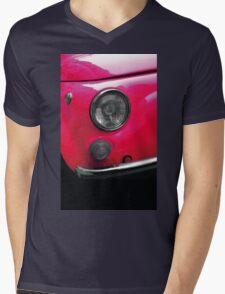 vintage and pink Mens V-Neck T-Shirt