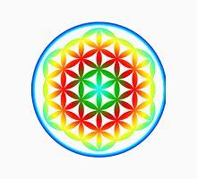 Flower of life - Rainbow Unisex T-Shirt