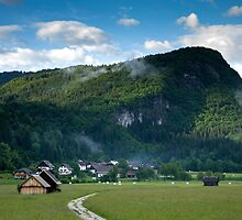 Beautiful Bohinj Valley by Ian Middleton
