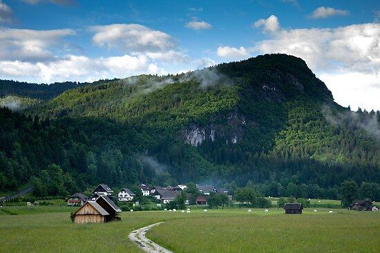 Beautiful Bohinj Valley by Ian Middleton