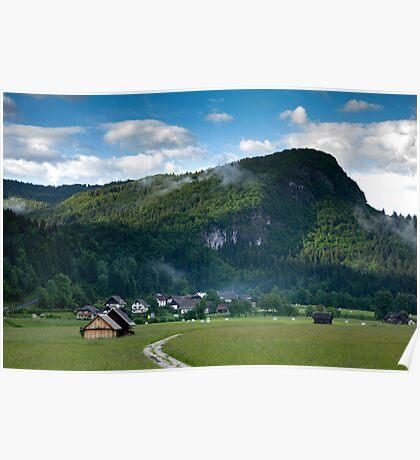 Beautiful Bohinj Valley Poster