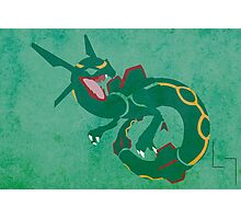 Rayquaza Photographic Print