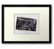 Tea Peanuts Framed Print