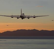 B17 Landfall by warbirds