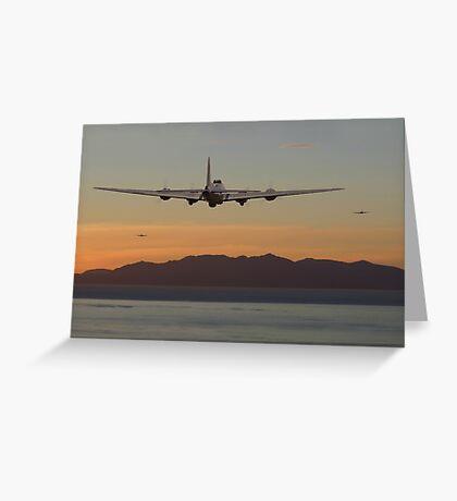B17 Landfall Greeting Card