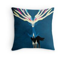 Xerneas Throw Pillow