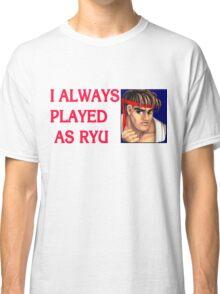 Street Fighter 2 Memories RYU Classic T-Shirt