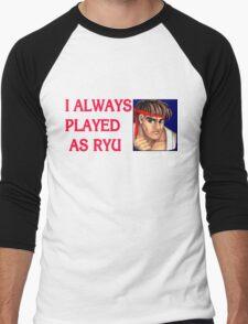 Street Fighter 2 Memories RYU Men's Baseball ¾ T-Shirt