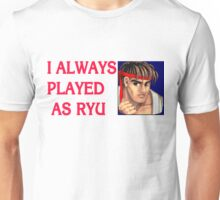 Street Fighter 2 Memories RYU Unisex T-Shirt