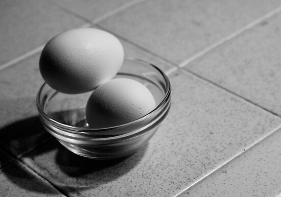 Still Life - Eggs by Mary Ellen Garcia