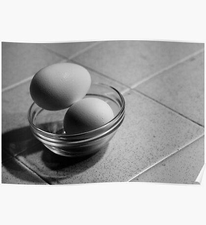 Still Life - Eggs Poster