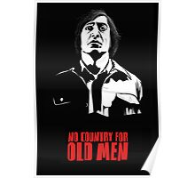 Anton Chigurh (Javier Bardem) No Country For Old Men  Poster