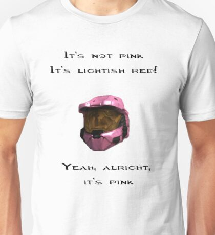 It's not pink; it's lightish red...yeah, alright, it's pink Donut Unisex T-Shirt