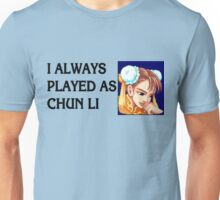 Street Fighter 2 Memories CHUN LI Unisex T-Shirt