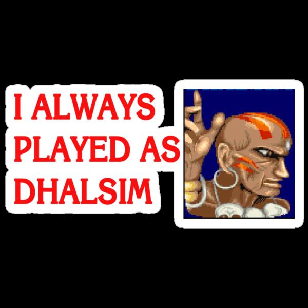 Street Fighter 2 Memories DHALSIM by Jamie Meakin