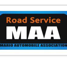 Mario Kart 8 MAA Road Service Sticker