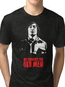 Anton Chigurh (Javier Bardem) No Country For Old Men  Tri-blend T-Shirt