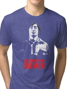 Anton Chigurh (Javier Bardem) No Country For Old Men  Tri-blend T-Shirt