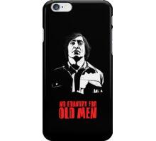 Anton Chigurh (Javier Bardem) No Country For Old Men  iPhone Case/Skin