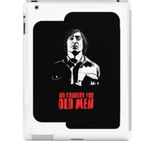 Anton Chigurh (Javier Bardem) No Country For Old Men  iPad Case/Skin