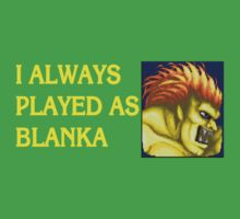 Street Fighter 2 Memories BLANKA by Jamie Meakin