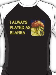 Street Fighter 2 Memories BLANKA T-Shirt