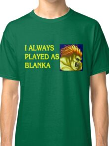 Street Fighter 2 Memories BLANKA Classic T-Shirt