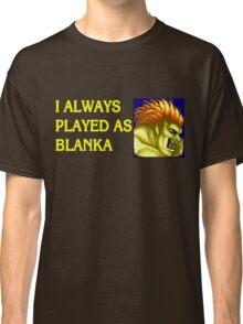 Street Fighter 2 Memories BLANKA Classic T-Shirt