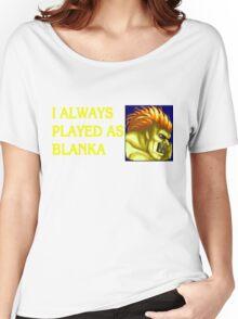 Street Fighter 2 Memories BLANKA Women's Relaxed Fit T-Shirt