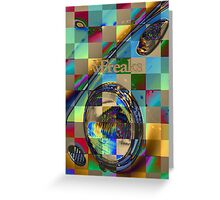 Das VW-Freaks Artistic Foiled Beetle Greeting Card