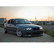 BMW E46 Photographic Print