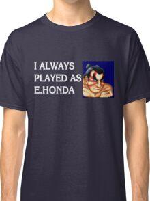 Street Fighter 2 Memories E.HONDA Classic T-Shirt