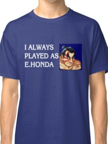 Street Fighter 2 Memories E.HONDA Classic T-Shirt
